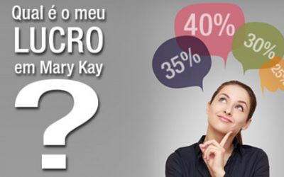 Qual minha porcentagem de lucro na Mary Kay?