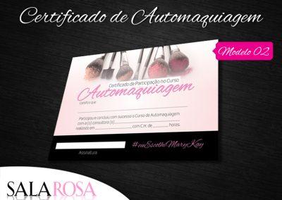 Certificado de Automaquigem CERT02